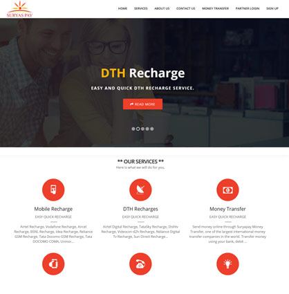 Pixyrs Softech DTH Recharge Software
